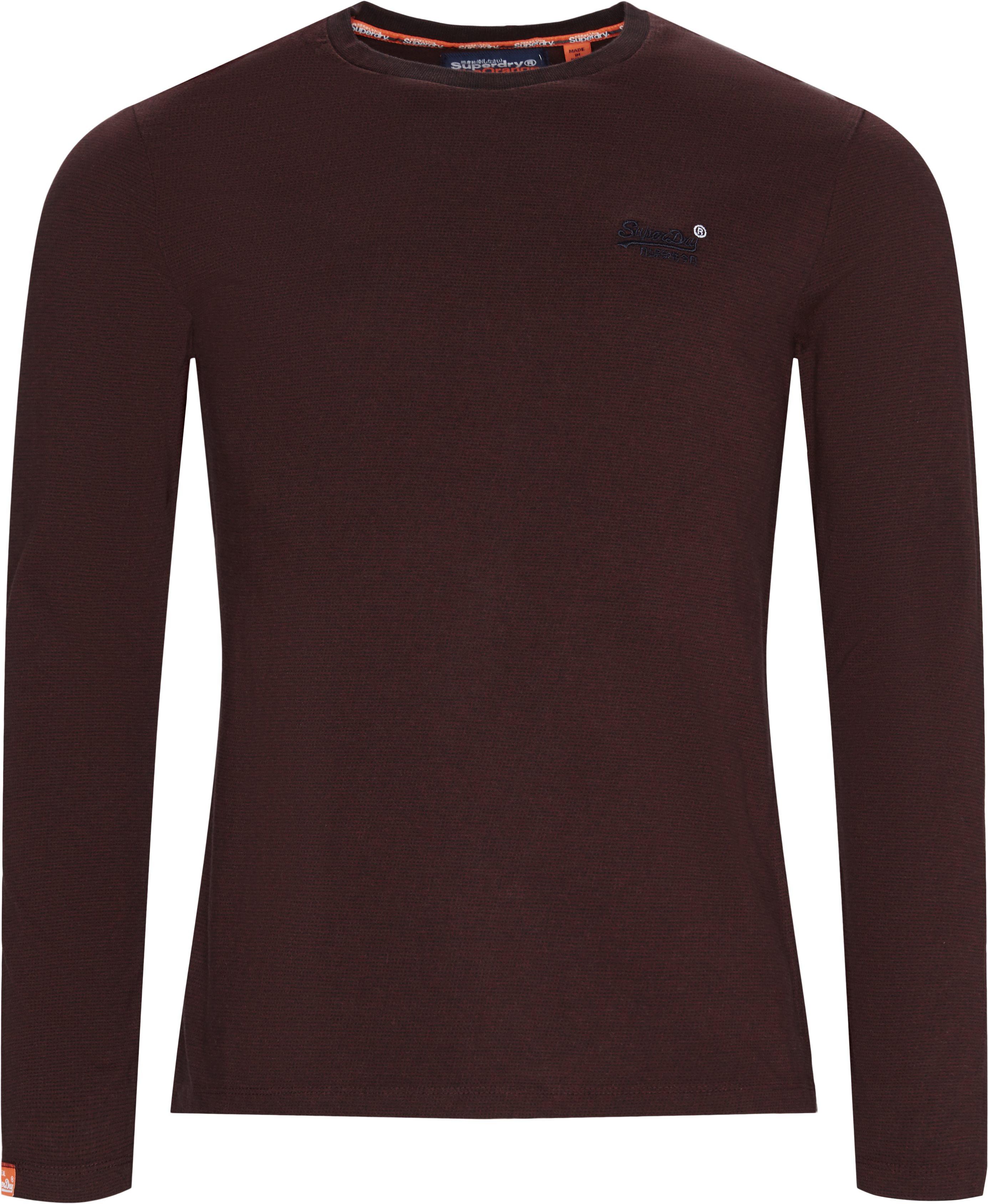 M6000 LS Tee - T-shirts - Regular fit - BORDEAUX